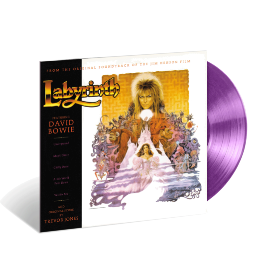 David Bowie: Labyrinth: Exclusive Lavender Limited Edition Vinyl