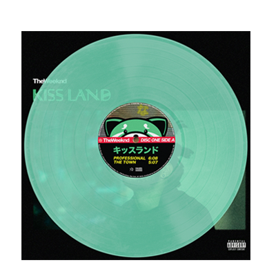 The Weeknd: Kiss Land Green Vinyl