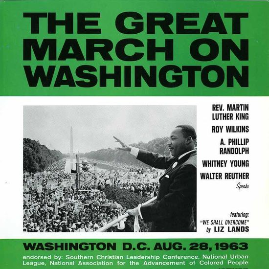 Various Artists: The Great March On Washington