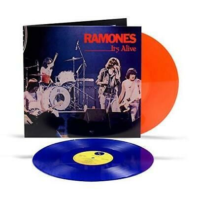 Ramones: It's Alive: Limited Edition Orange & Blue Vinyl
