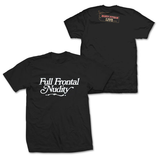 Monty Python: Full Frontal Nudity Black T-Shirt Small