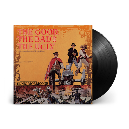 Ennio Morricone: The Good, The Bad And The Ugly: Limited Edition Gatefold Vinyl Soundtracks