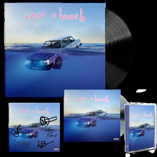 Easy Life: life's a beach: lp, cd, cassette + signed art card