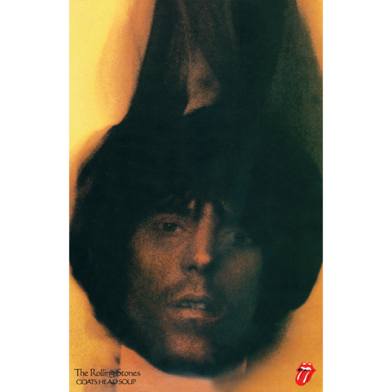 The Rolling Stones: Goats Head Soup Keith A2 Lithograph