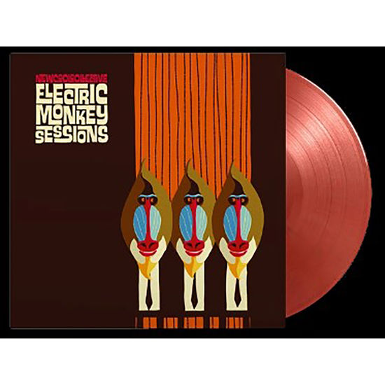 New Cool Collective: Electric Monkey Sessions (Tour Edition) Red And Gold Coloured Vinyl