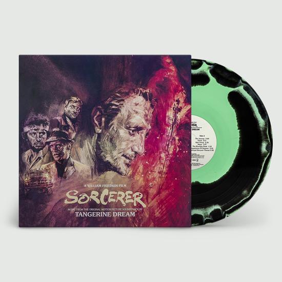Tangerine Dream: Sorcerer [OST]: Limited Edition Rainforest Green & Black Swirled Vinyl