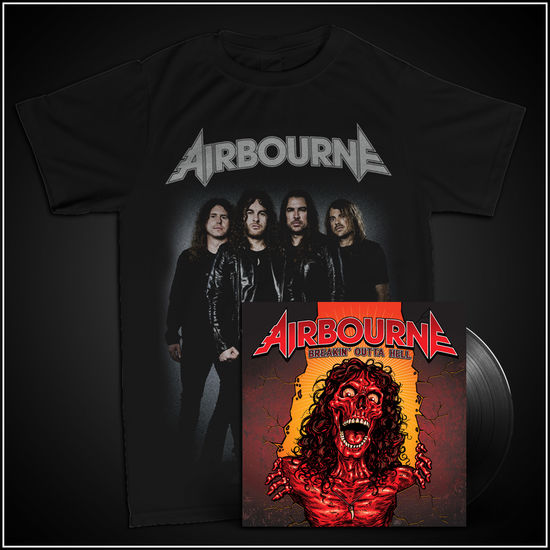 Airbourne: Band T-Shirt & Vinyl