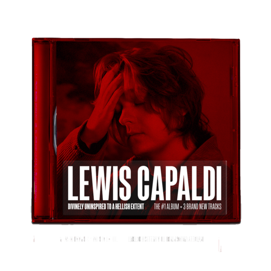 Lewis Capaldi: Divinely Uninspired To A Hellish Extent Extended Edition Clear Jewel Case