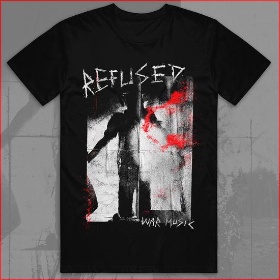 Refused: War Music Black T-Shirt