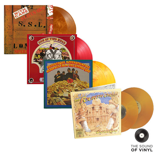 Status Quo: The Sound Of... Status Quo: Deluxe Colour Vinyl Exclusive Bundle