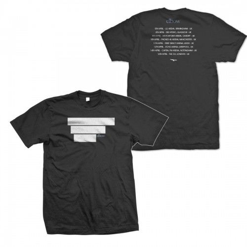 Elbow: 2014 Plain Blocked Dateback T-Shirt