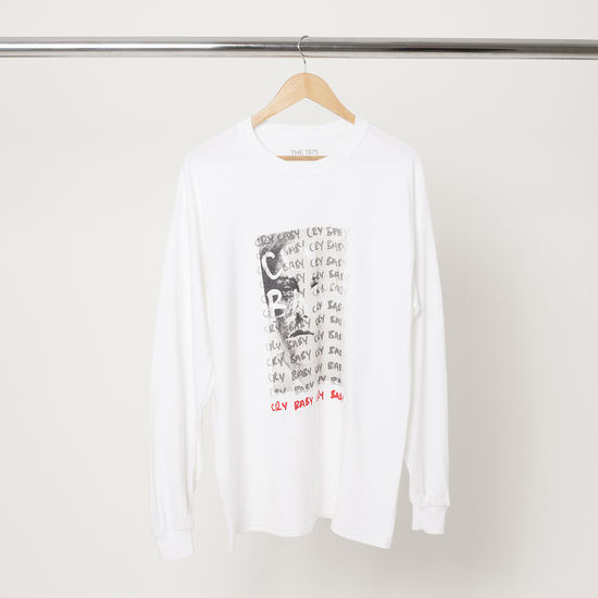 The 1975: Cry Baby Long Sleeve T-Shirt I - S