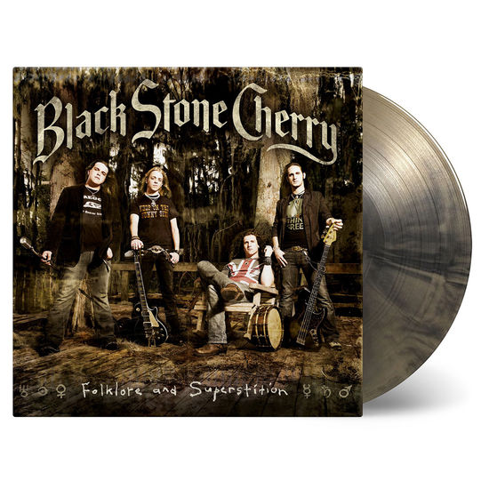 Black Stone Cherry: Folklore and Superstition: Limited Edition Gold & Black Vinyl