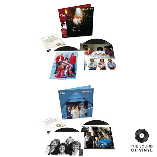 Abba: The Sound Of... ABBA: Half Speed Master Deluxe Editions Exclusive Bundle