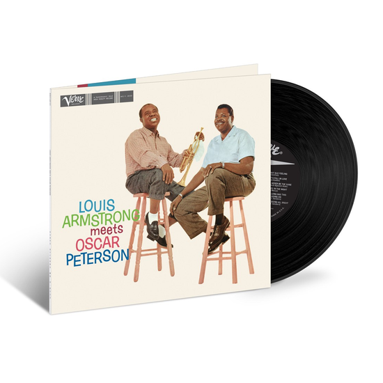 Louis Armstrong / Oscar Peterson: Louis Armstrong Meets Oscar Peterson (1959): Limited Acoustic Sounds Edition 180gm Reissue