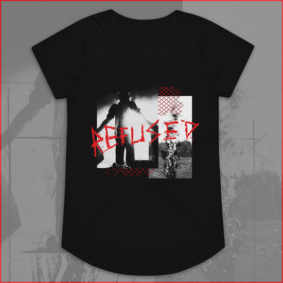 Refused: War Music Womens Black T-Shirt