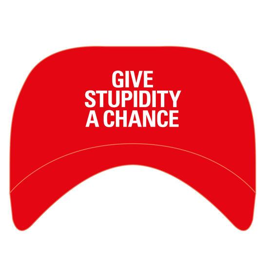 Pet Shop Boys: Give Stupidity A Chance Baseball Cap
