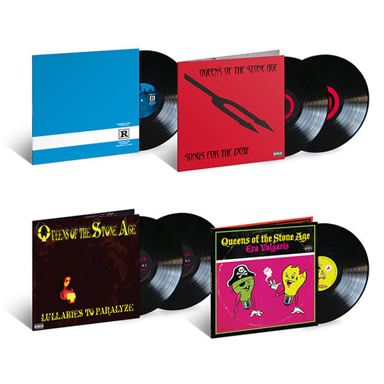 Queens Of The Stone Age: Deluxe Four Album Reissue Bundle