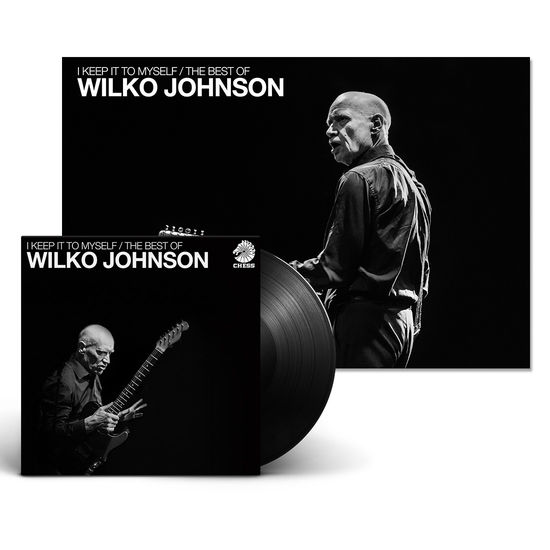 Wilko Johnson: I Keep It To Myself – The Best Of Wilko Johnson & Signed Print