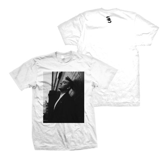 Sam Smith: Lean Photo White T-Shirt