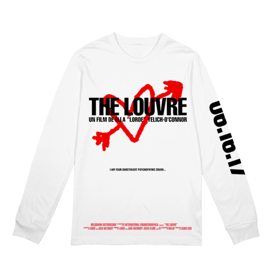 Lorde: The Louvre WHT LS - S