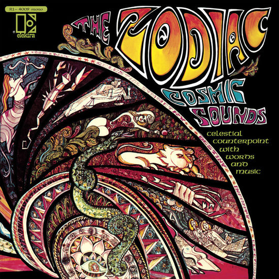 The Zodiac: Cosmic Sounds: Glow In The Dark Mono Vinyl