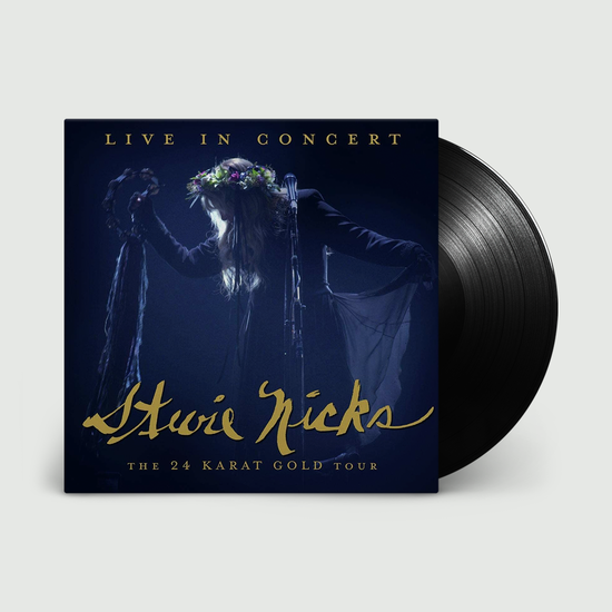 Stevie Nicks: Live In Concert The 24 Karat Gold Tour: Black Vinyl