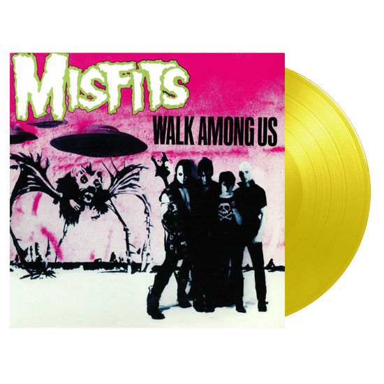 Misfits: Walk Among Us: Limited Edition Yellow Vinyl