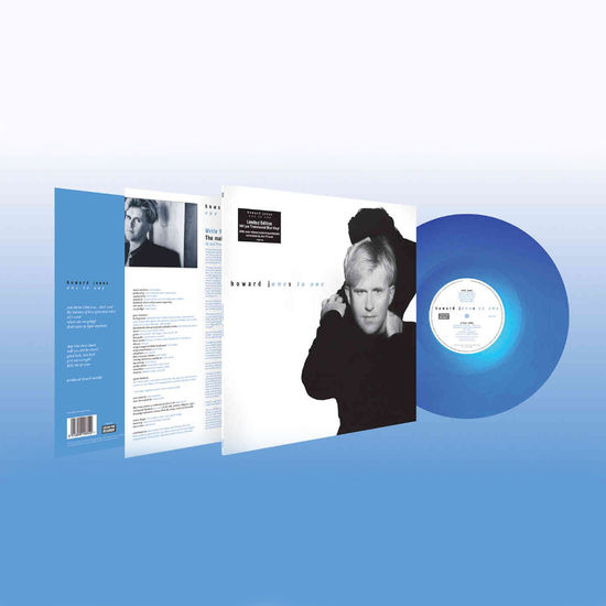 Howard Jones: One To One: Limited Edition Translucent Blue Vinyl