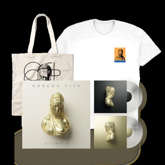 Gorgon  City: Olympia LP Tote & T-shirt