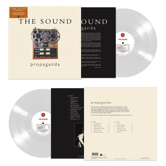 The Sound: Propaganda: Limited Edition Clear Vinyl