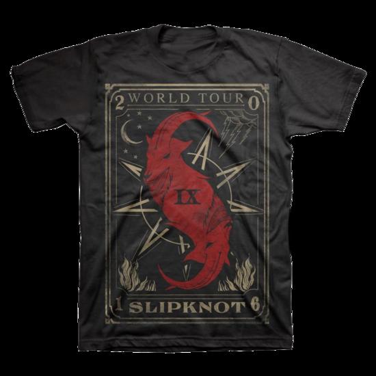 Slipknot: Tarot Card World Tour T-Shirt