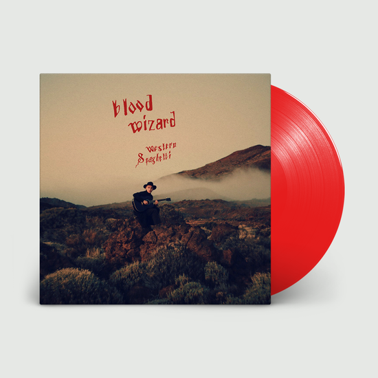 Blood Wizard: Western Spaghetti: Blood Red Vinyl