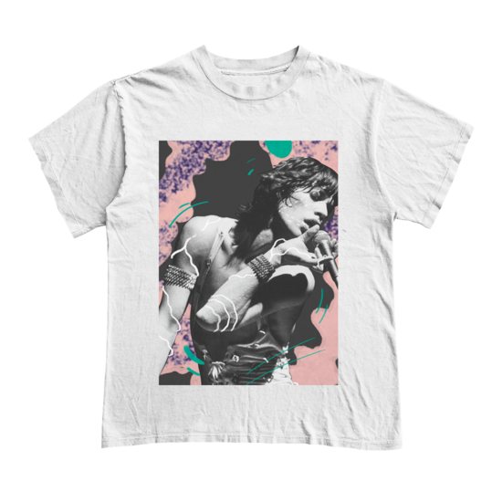 The Rolling Stones: Stones x RUFFMERCY - Mick T-Shirt