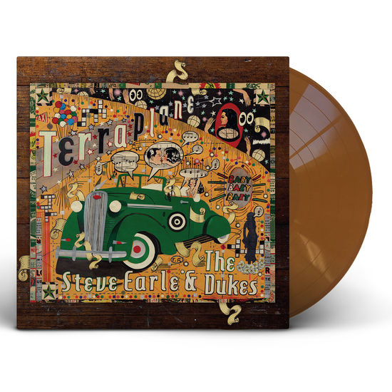 Steve Earle & The Dukes: Terraplane: Trans Gold Vinyl LP