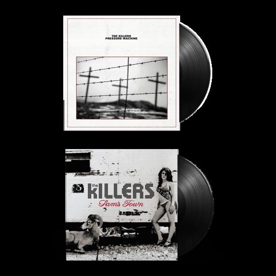 The Killers: PRESSURE MACHINE + SAM'S TOWN Vinyl Bundle