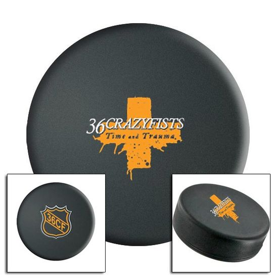 36 Crazyfists: Hockey Puck