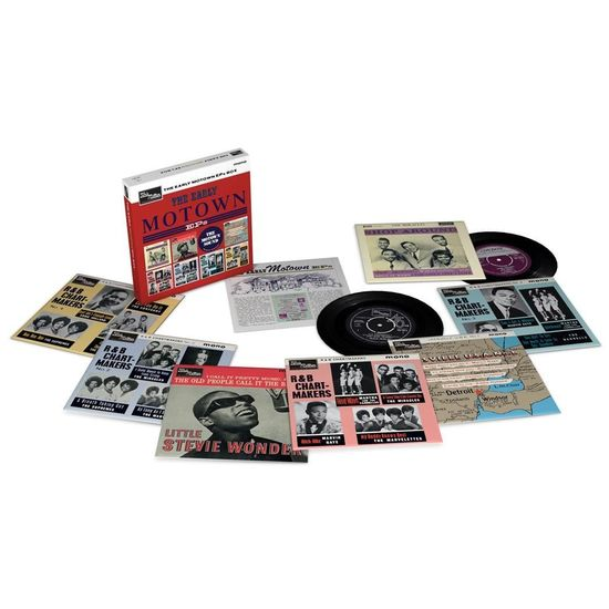 Various Artists: The Early Motown EPS Vinyl Box Volume 1
