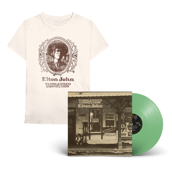 Elton John: Tumbleweed Connection: Exclusive Green Vinyl + T-Shirt
