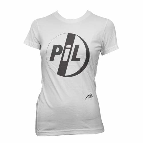 Public Image Limited: PiL Classic Logo Black Womens T-Shirt