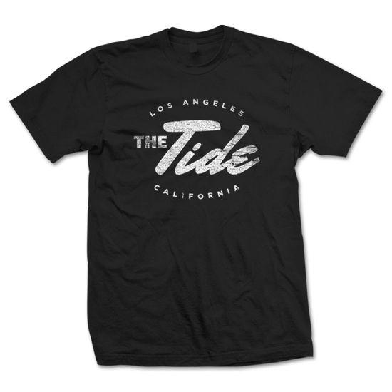 The Tide: Black Unisex Logo T-Shirt