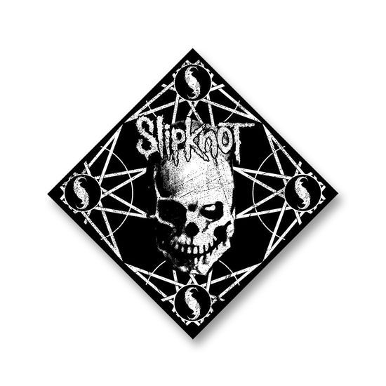Slipknot: Skull And Stars Black Bandana