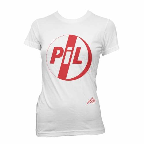 Public Image Limited: PiL Classic Logo Red Womens T-Shirt