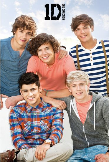 One Direction: One Direction Bench Poster