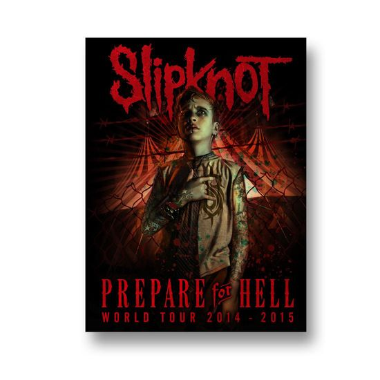 Slipknot: Prepare For Hell The Pledge Litho