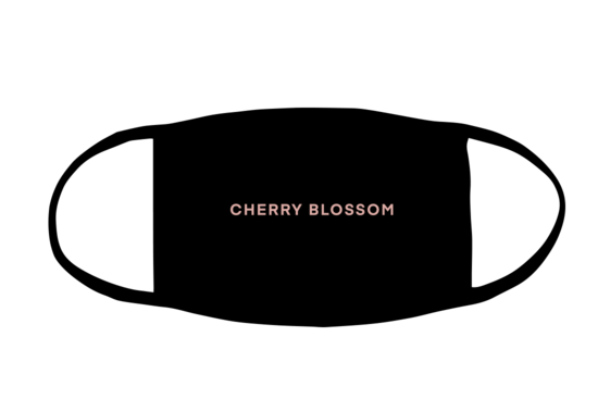 The Vamps: Cherry Blossom Face Mask