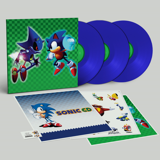 Sonic the Hedgehog: Sonic the Hedgehog [Original Game Soundtrack]: Limited Edition Triple Sonic Blue Vinyl