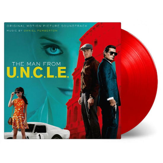 Original Soundtrack: The Man From U.N.C.L.E.: Red Double Vinyl LP