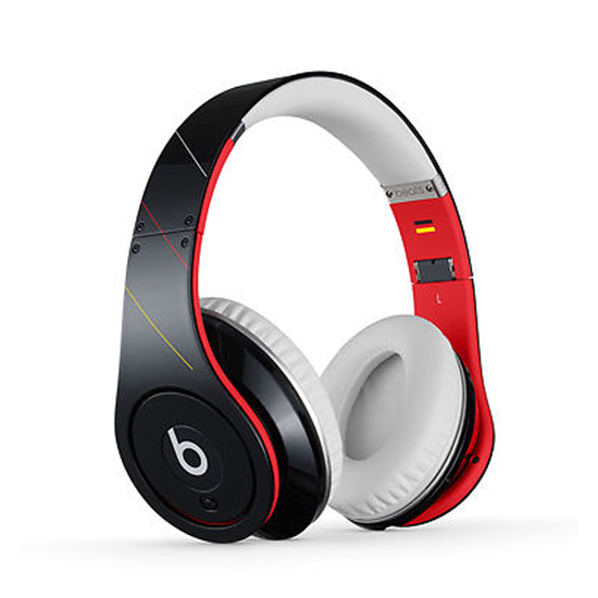 Beats: Studio On-Ear Headphones - Black Germany Flag Edition