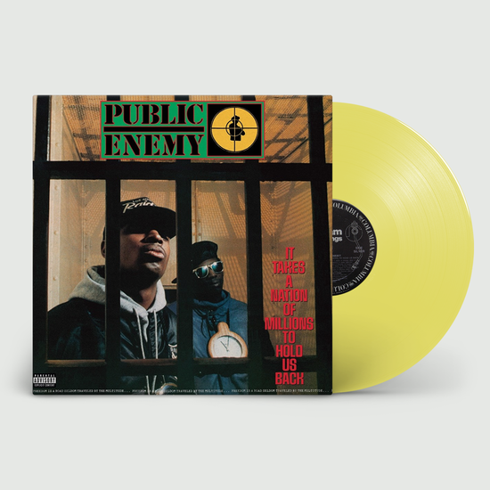 Public Enemy: It Takes A Nation Of Millions To Hold Us Back: Limited Edition Yellow Vinyl
